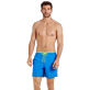Men Classic Solid - Men Swim Trunks Solid Bicolor, Atoll frontworn
