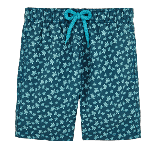 Boys Classic / Moorea Printed - Boys Swimtrunks Micro ronde des tortues, Spray front
