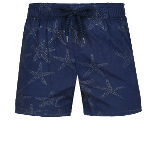 男童 Others 神奇 - Boys Swimwear Stretch Starfish Dance Diamond, Navy front