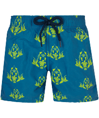 Boys Others Printed - Boys Swim Trunks Pranayama, Goa front