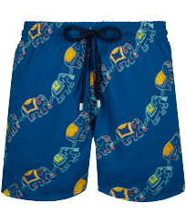 Men Classic Embroidered - Men Swimwear Embroidered Elephant Dance - Limited Edition, Goa front