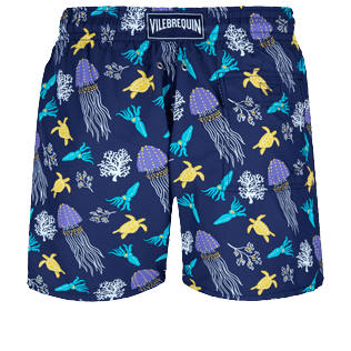 Men Classic Printed - Men Swimwear Rocket Medusa, Sapphire back
