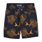 Boys Others Printed - Prehistoric Fish Lightweight Packable Swim Shorts, Navy back