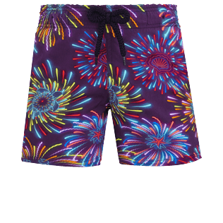 Boys Others Printed - Boys Swimwear Stretch Fireworks, Navy front