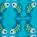 Men Swimwear Embroidered Sweet Fishes - Limited Edition, Light azure swatch