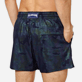 Men Stretch classic Printed - Men Swim Trunks Stretch Prince de Galles, Navy supp1
