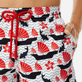 Men Classic Printed - Men swimtrunks Hong Kong - Web Exclusive, White supp1