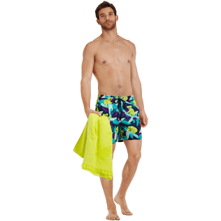 Men Classic Printed - Men Swimtrunks Koalas, Navy supp2