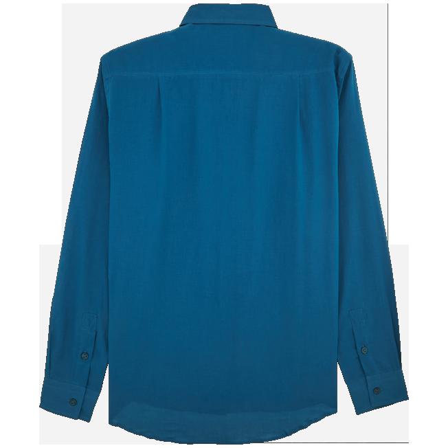 Vilebrequin - Camisa en gasa de algodón con estampado liso unisex - 2