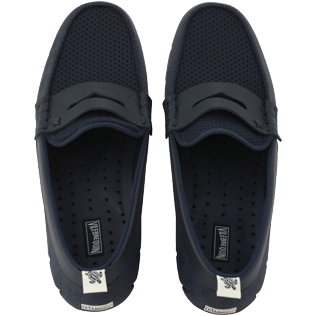 Men Others Solid - Waterproof loafers, Navy front