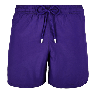 Men Classic Solid - Men Swimtrunks Solid, Amethyst front