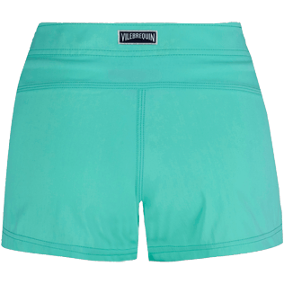 Women Others Solid - Women Stretch swim short Solid, Mint back