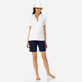 Women Others Solid - Women Terry cloth Polo Shirt Solid, White supp2