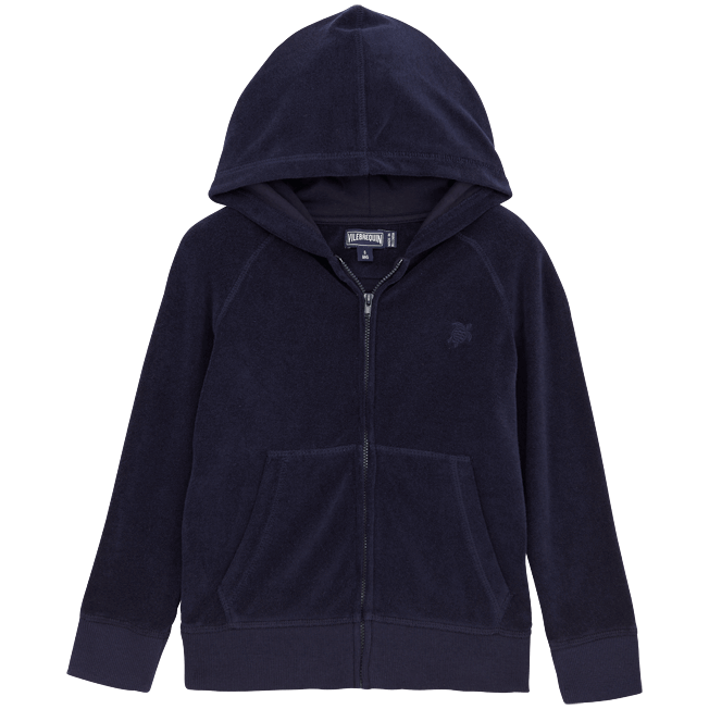 Vilebrequin - Solid Terry Zipped terry jacket - 1