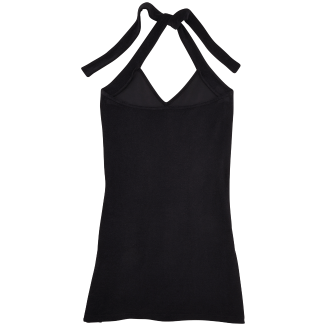 Vilebrequin - Robe courte dos nu en Eponge Femme Unie - 2