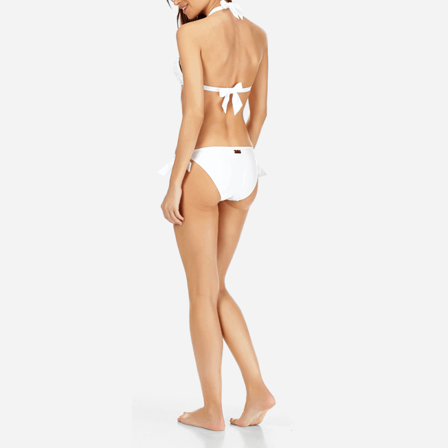 Vilebrequin - Haut de Maillot de bain Triangle Femme Broderies Anglaises - 3