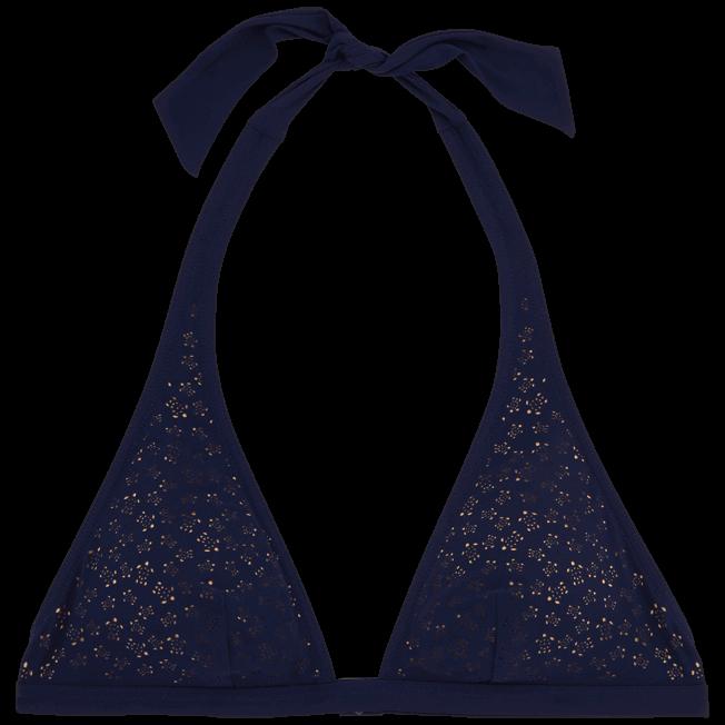 Vilebrequin - Micro Ronde des Tortues Triangle shape bikini top - 1