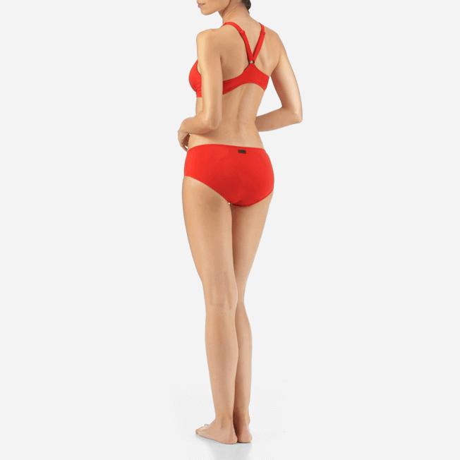Vilebrequin - Shaping Solid Water Bikini bottom - 6