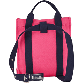 Others Solid - Cotton Beach Backpack Solid, Gooseberry red back