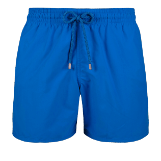 Men Classic Solid - Men Swimwear Solid, Sea blue front