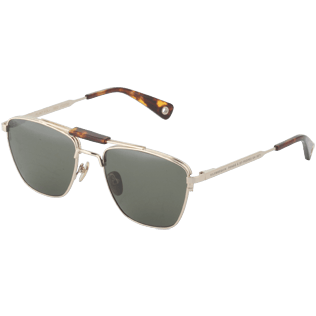 Sunglasses Solid - Khaki mono polarised Sunglasses, Dore back
