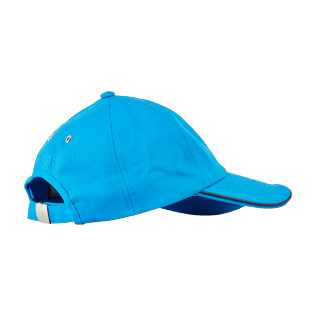 Autros Liso - Gorra lisa para niños, Hawaii blue back
