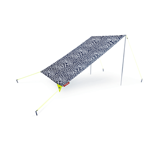 Others Printed - VILEBREQUIN X FATBOY® MIASUN - Portable Beach Tent, Navy back
