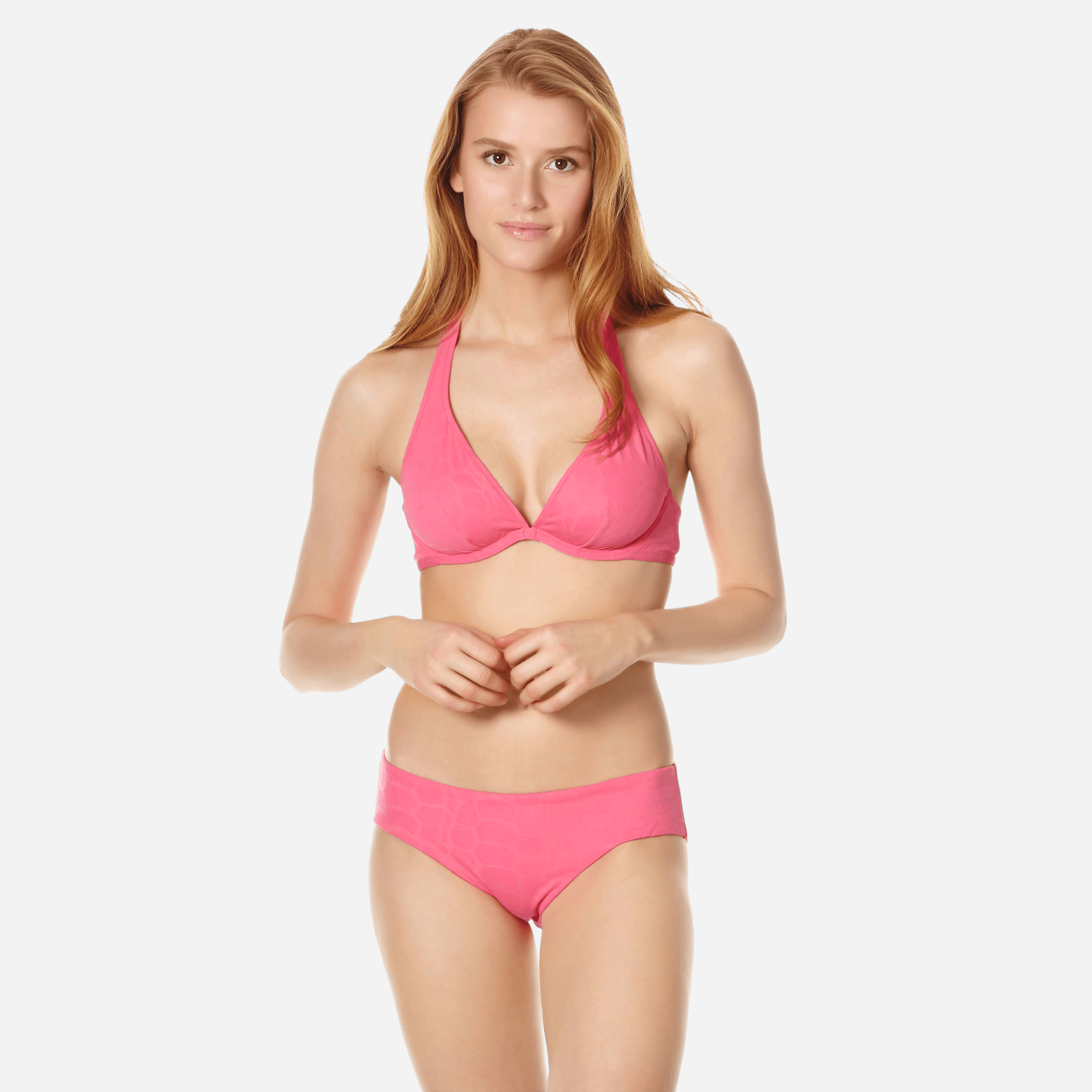 VILEBREQUIN | Women Swimwear - Women Bikini Top With Underwires Ecailles De Tortue - SWIMMING TRUNK - FAITH - Pink - XXS - Vilebrequin | Goxip