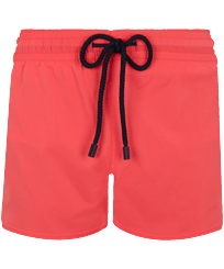 Men Short classic Solid - Men Swim Trunks Short and Fitted Stretch Solid, Masala front
