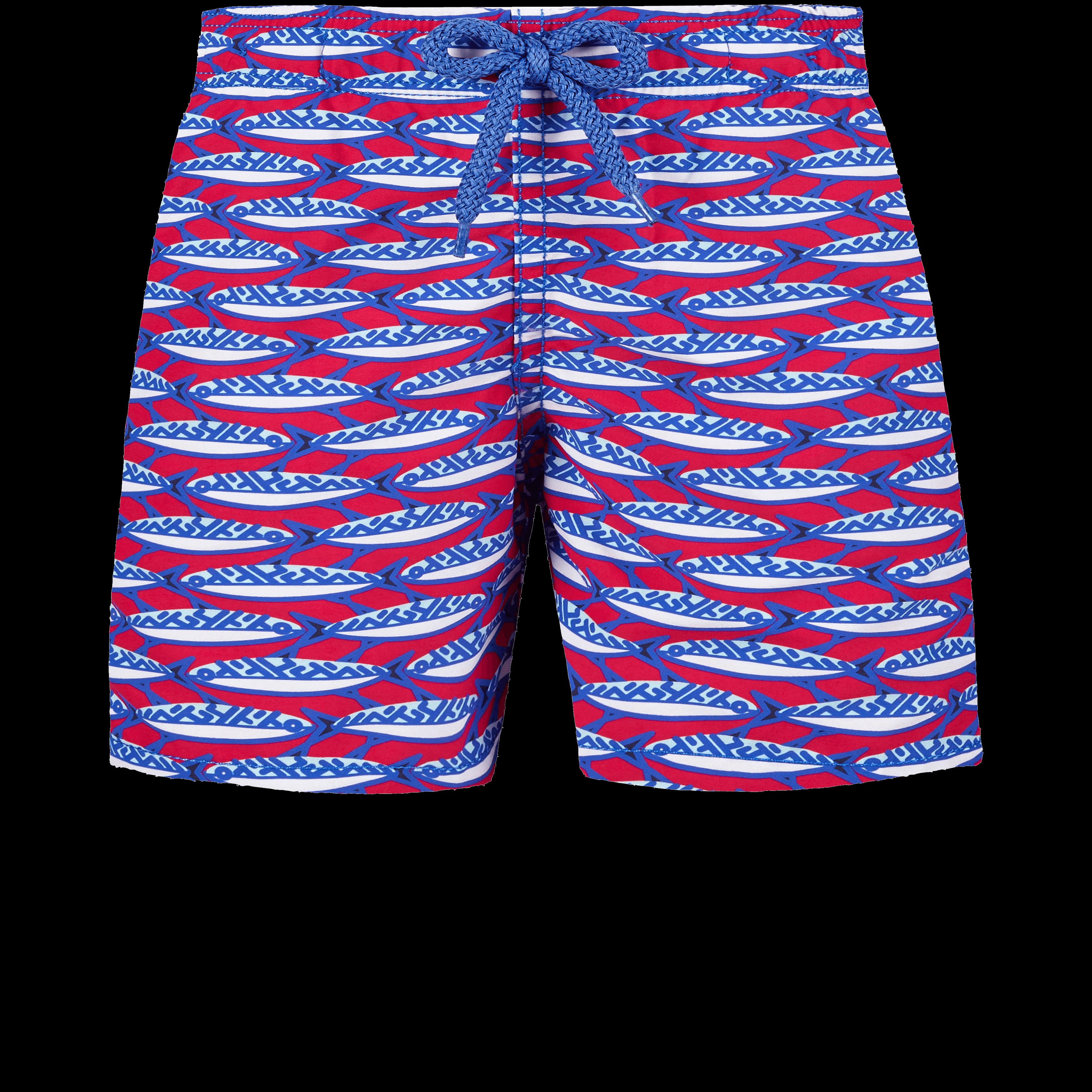 VILEBREQUIN | Boys Swimwear - Boys Swimwear Marbella - SWIMMING TRUNK - JIM - Red - 14 - Vilebrequin | Goxip