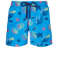 Men 017 Embroidered - Men Swim Trunks Embroidered - Limited Edition, Atoll front