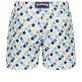 Men 017 Embroidered - Men Swim Trunks Embroidered - Limited Edition, White back