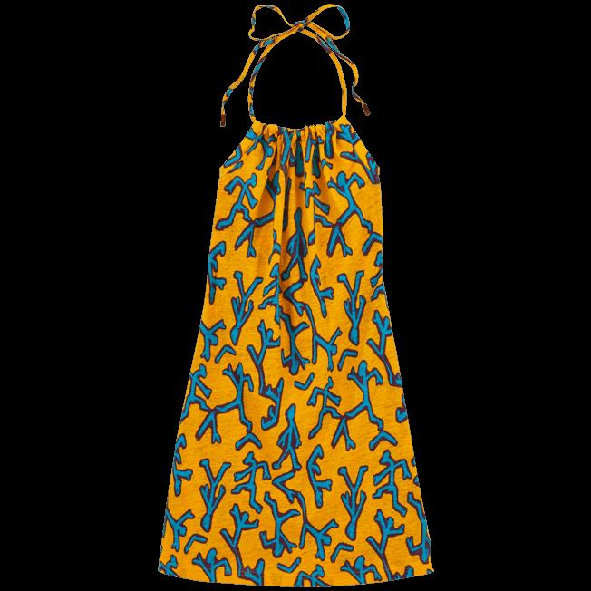 Vilebrequin - Danse du Feu Halter back dress - 1