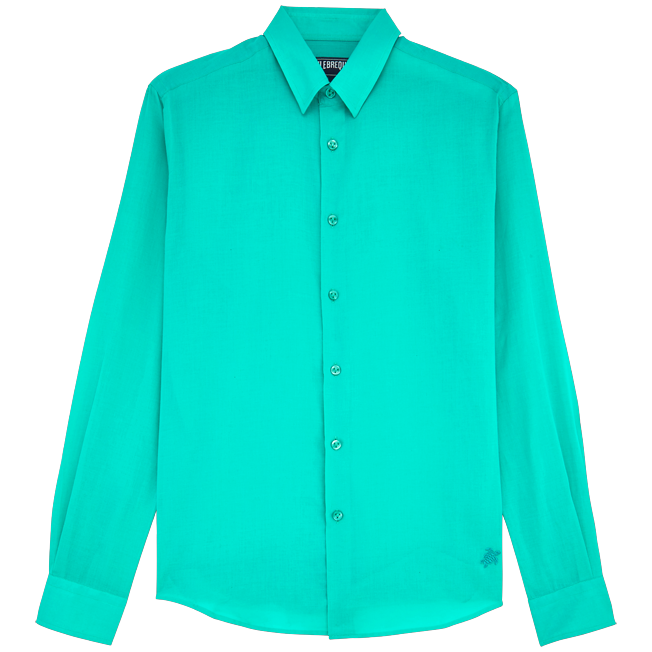 Vilebrequin - Unisex Cotton Shirt Solid - 1