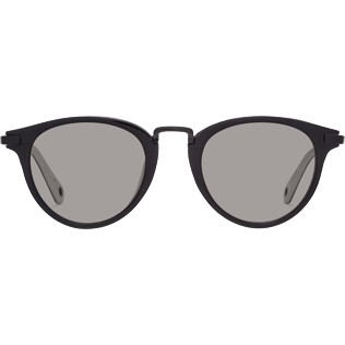 Sunglasses Solid - Smoke Black Sunglasses, Black front