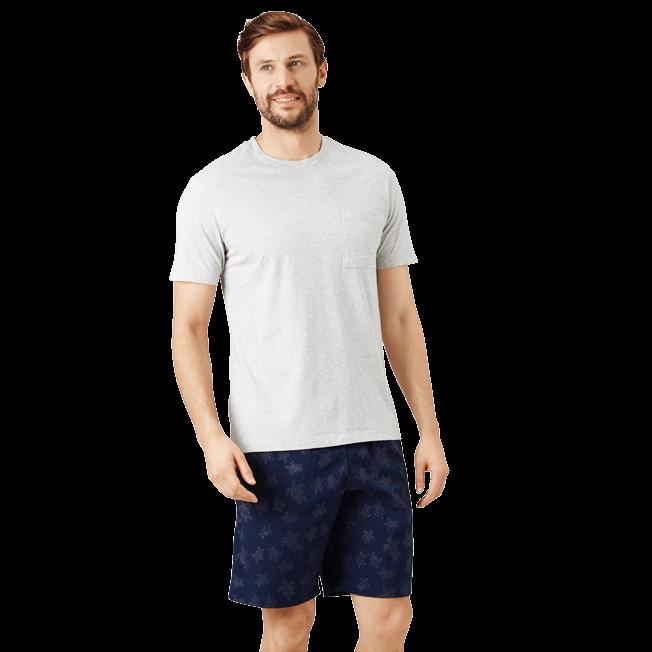 Vilebrequin - Camiseta en punto de algodón Pima liso para hombre - 3