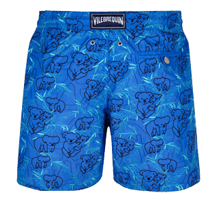 Men Embroidered Embroidered - Men Embroidered Swimwear Sydney - Limited Edition, Sea blue back