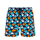 Men Classic Printed - Men Swim Trunks Turtles Stars, Navy front