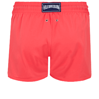 Men Short classic Solid - Men Swimwear Short and Fitted Stretch Solid, Masala back