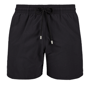 Men Classic Solid - Men swimtrunks Solid, Black front