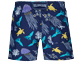 Boys Others Printed - Boys Swimwear Solid, Sapphire back