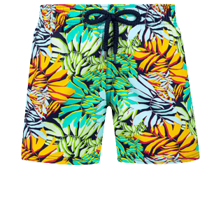 Boys Others Printed - Boys Swimwear Stretch Jungle, Midnight blue front