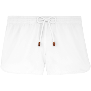 Women Shorties Solid - Solid shortie, White front