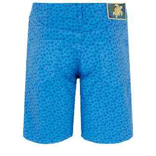 Men Others Printed - Men Cotton Bermuda Shorts Micro Ronde Des tortues, Ocean back