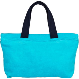 Bags Solid - Beach Pouch in Terry Cloth Solid Jacquard, Curacao front
