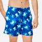 Men Ultra-light classique Printed - Men Swim Trunks Ultra-Light and Packable Crystal Turtles, Atoll supp1