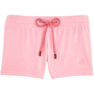 Women Shorties Solid - Women Terry Cloth Shortie Solid, Peony front