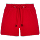 Women Others Solid - Women Terry cloth shortie Solid, Red polish front