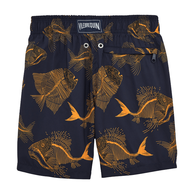 Vilebrequin - Prehistoric Fish Lightweight Packable Swim Shorts - 2