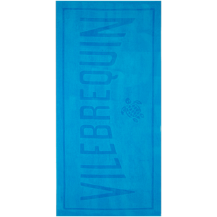 Others Solid - Beach Towel in terry cloth Solid Jacquard, Hawaii blue front